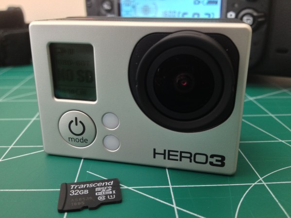 GoPro Hero 3 Black with microSDHC Card