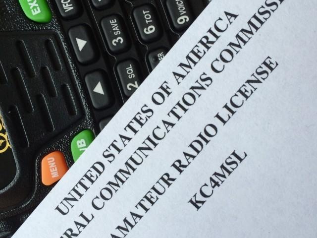 FCC Amateur Radio License