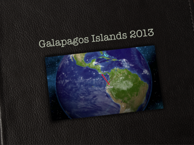 2013 Galapagos Islands Video