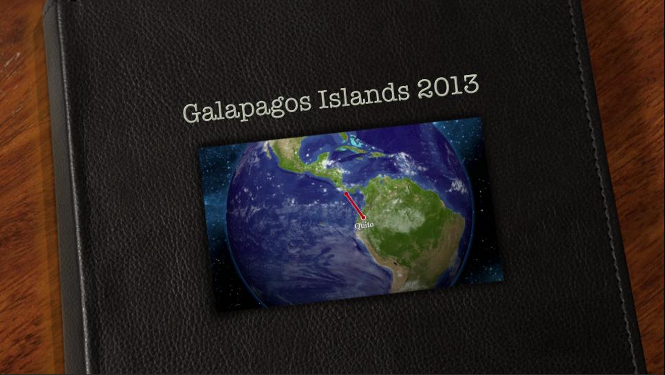 2013 Galapagos Islands Video