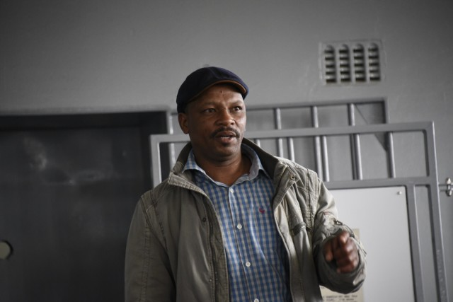 Derrick Basson describes daily life as a prisoner on Robben Island