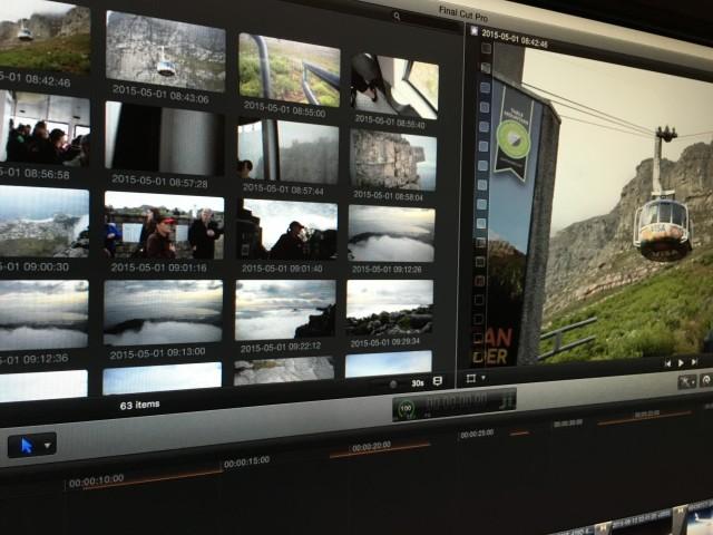 Table Mountain Media in Final Cut Pro X