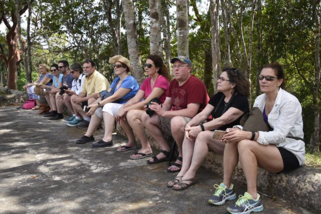 The group at Las Terrazas