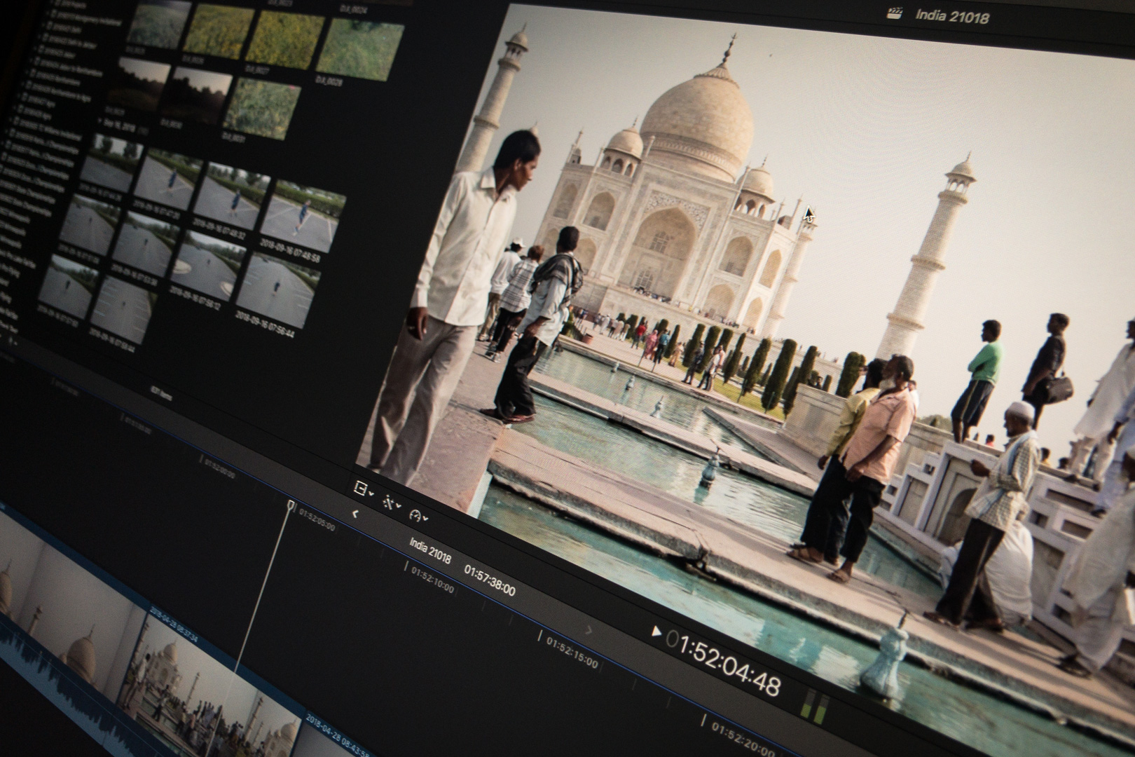 India Video Clips in Final Cut Pro X